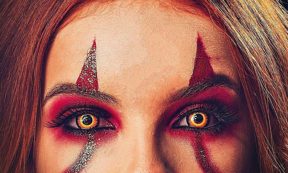neue Fotos Weg sparen großes Sortiment Halloween-Kontaktlinsen: Kein Spaß: Jux-Linsen können ins ...