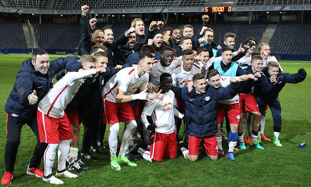 "Salzburger ""Jungbullen"" deklassieren PSG"