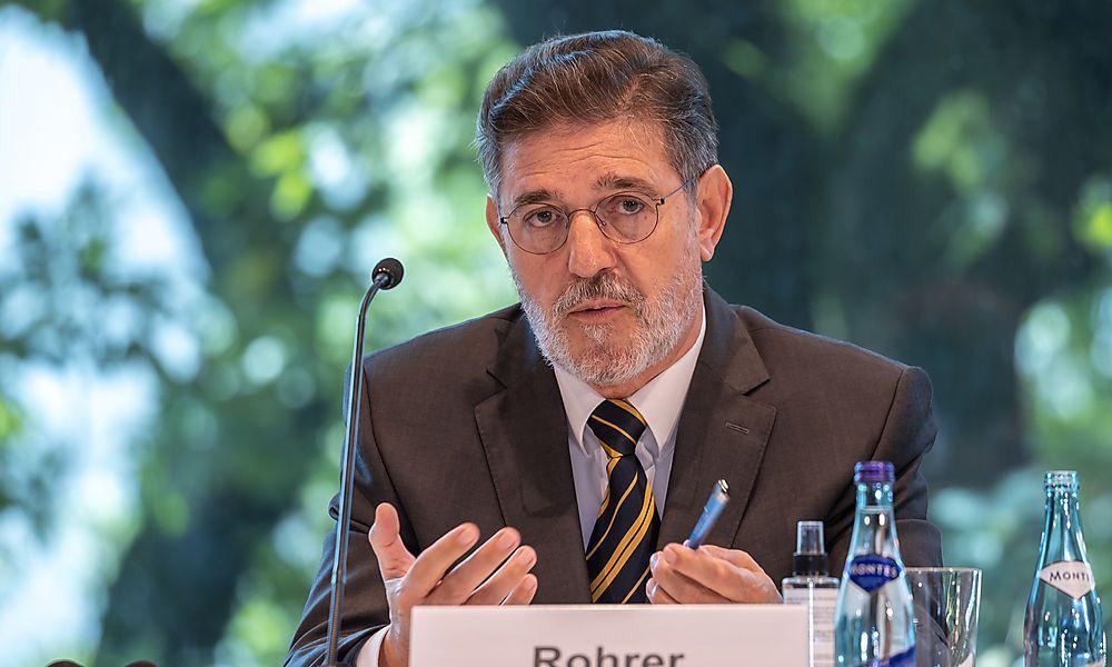 Ronald Rohrer, zuletzt Leiter der Ischgl-Expertenkommission, stellvertretender Verfahrensanwalt im Ibiza-Untersuchungsausschusses und Leiter des Eurofighter-U-Ausschusses.