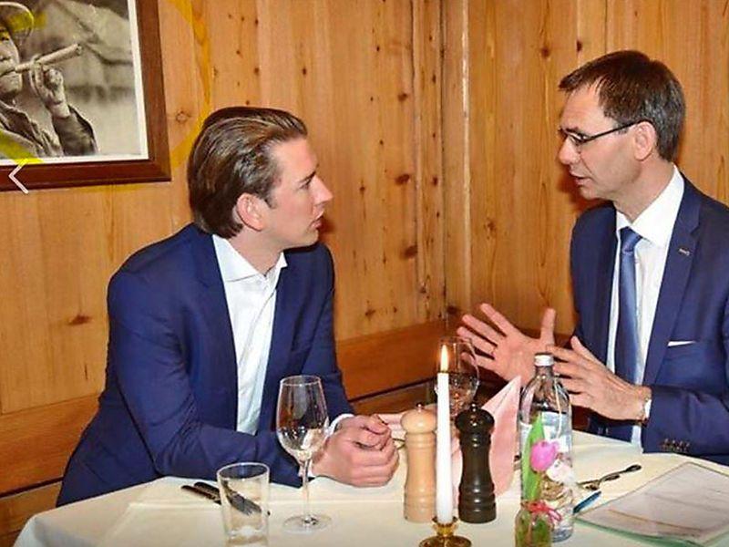 Joint, Zaun & Co: So wird Sebastian Kurz im Netz verrissen