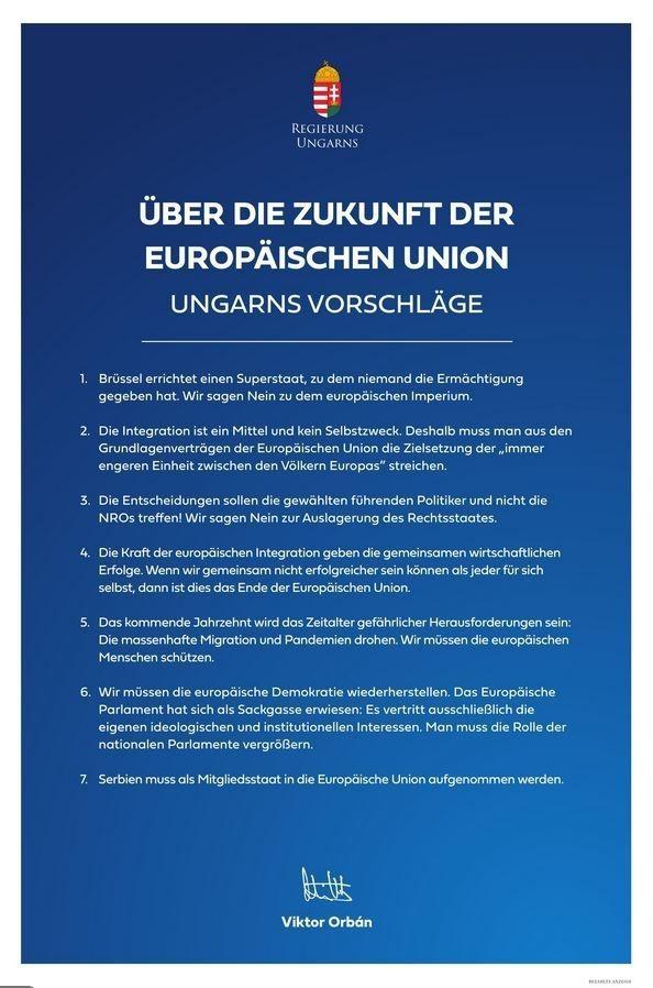 """Karas empört: Orban inseriert ganzseitig in der """"Presse"""" und kritisiert EU  « kleinezeitung.at"""