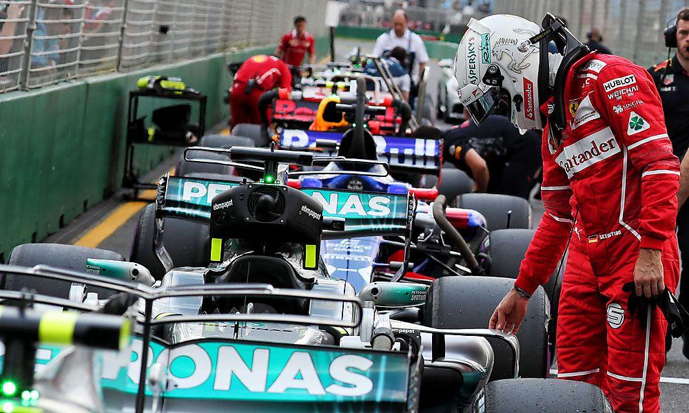 Vettel bei Hamilton auf Spionage-Tour
