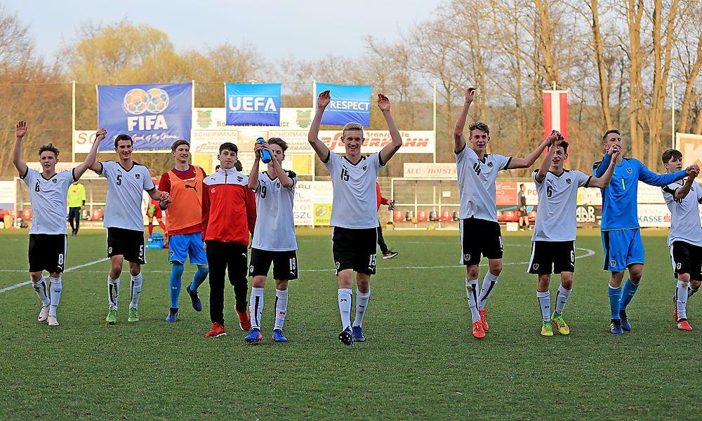 Österreichs U17 greift nach dem EM-Ticket