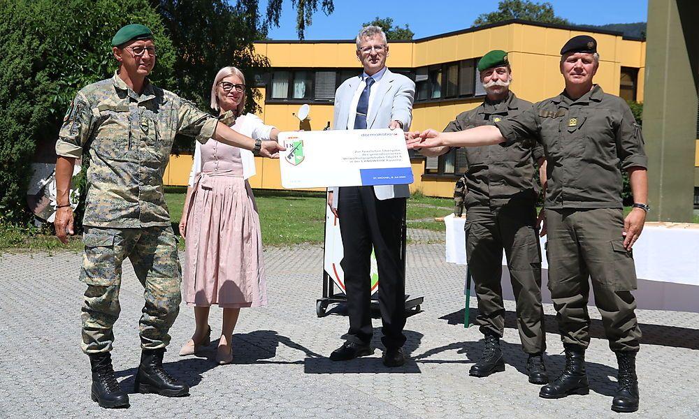 Bundesheer investierte 3,4 Millionen Euro in Sanierung von Kasernengebäude