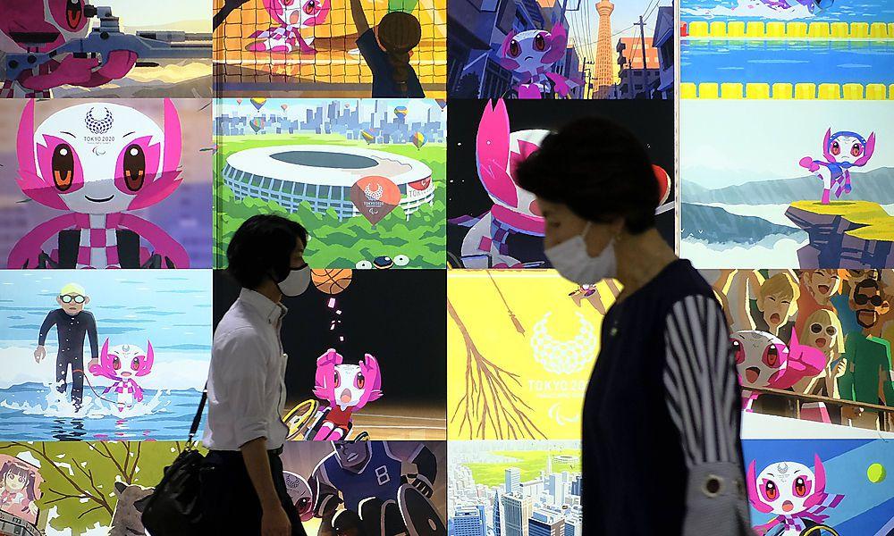 Die Olympischen Spiele sind nicht überall in Japan beliebt
