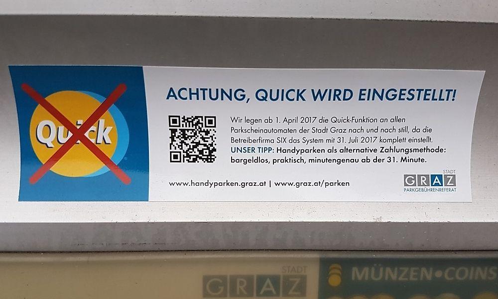 Bargeldlos Parkautomaten So Soll Man Künftig In Graz Zahlen