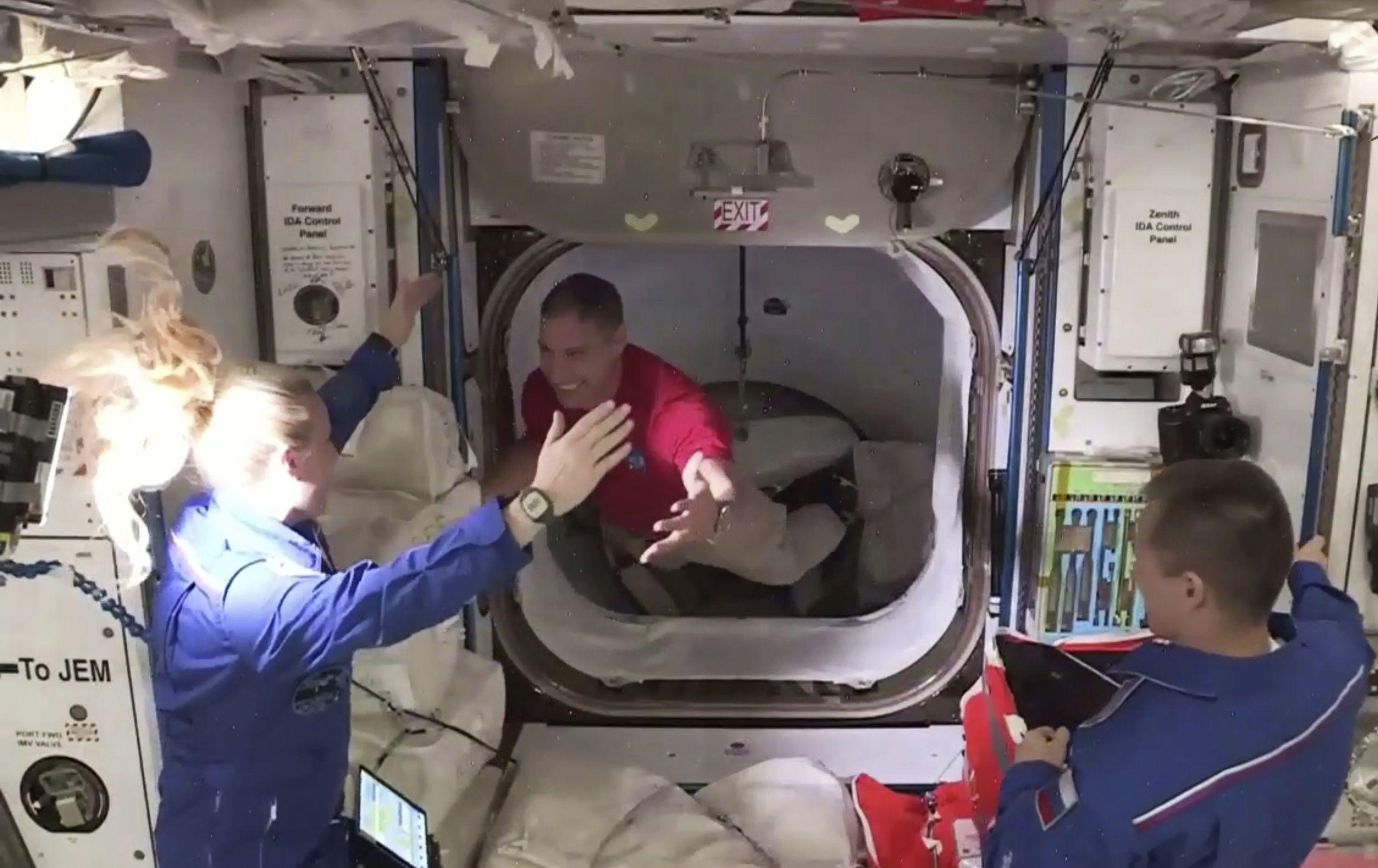 Astronauten erreichten ISS