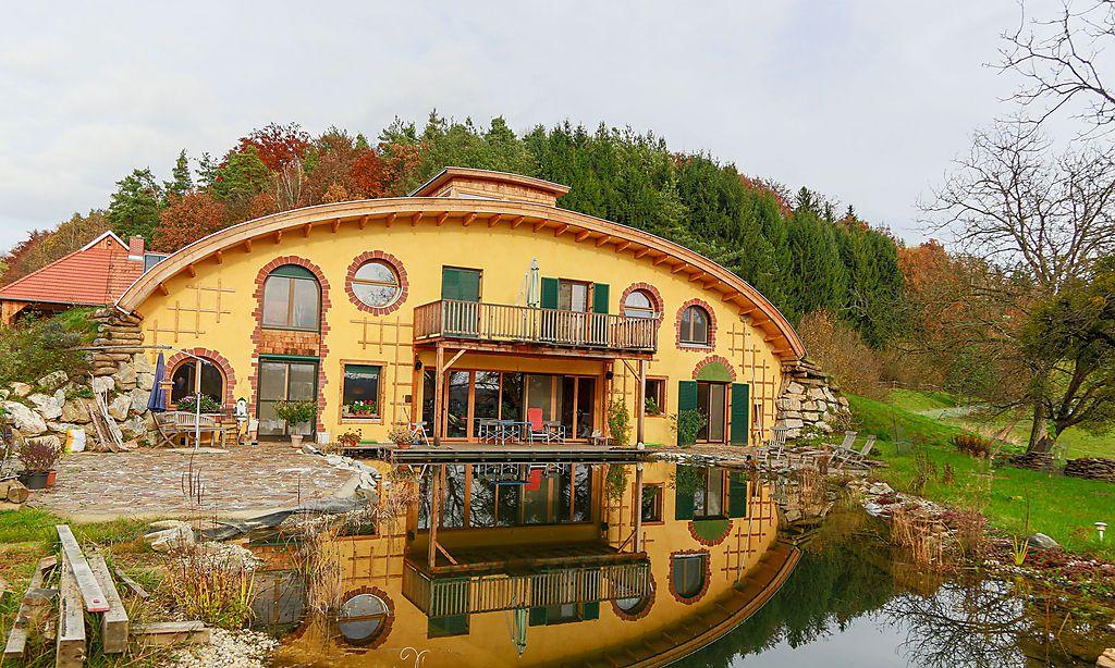 Hobbit Haus Bauen homestorys wohnporträt ein haus mit maximaler erdung