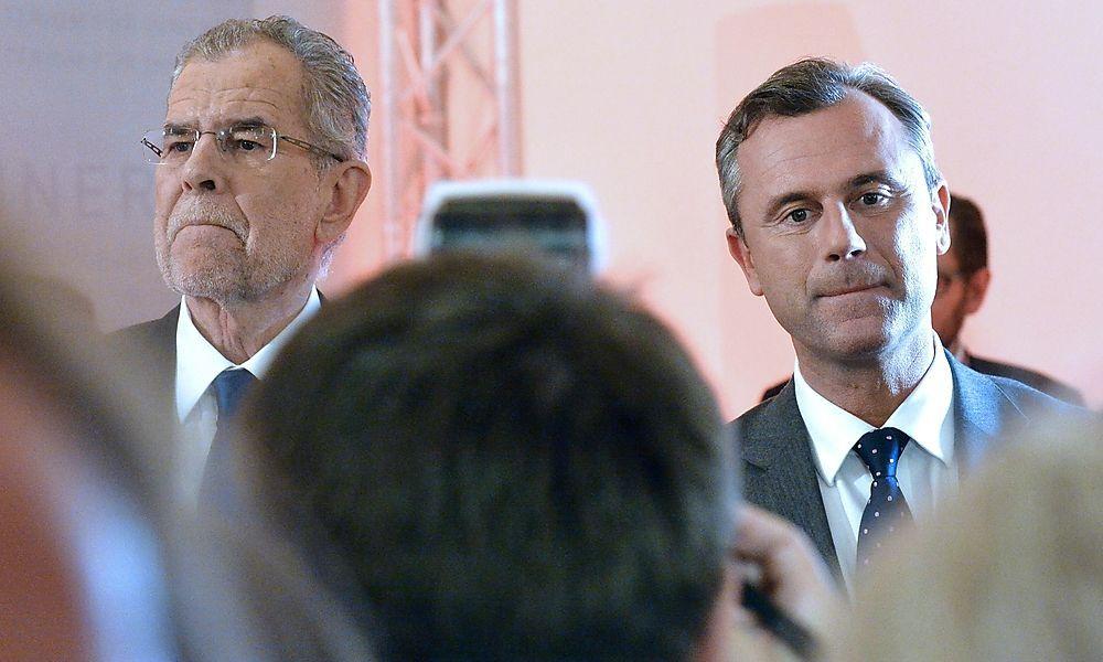 Endspurt bei Hofburg-Wahl: Medieninteresse groß wie nie