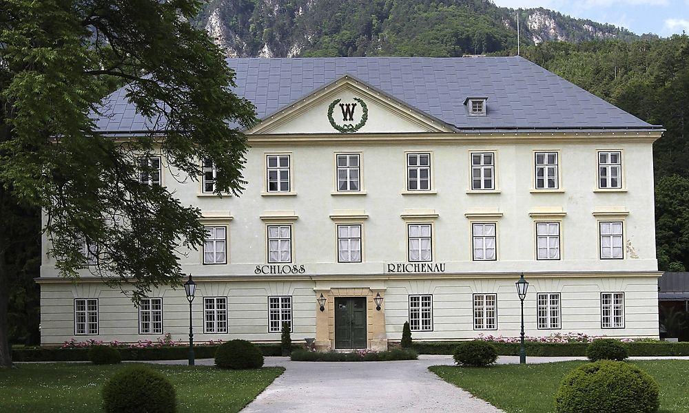Schloss Reichenau in Reichenau an der Rax N� �sterreich PUBLICATIONxINxGERxSUIxAUTxHUNxONLY 1065502