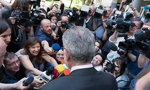 So viele Journalisten wie noch nie in Wien