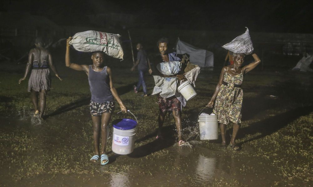 Haiti: Nach Erdbeben der Tropensturm