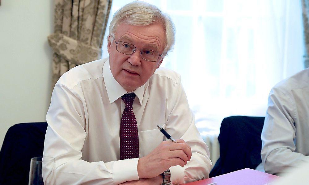 Britischer Minister Davis: Rede in Wien