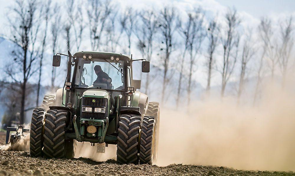 Traktor machte sich selbstständig: Ein Verletzter