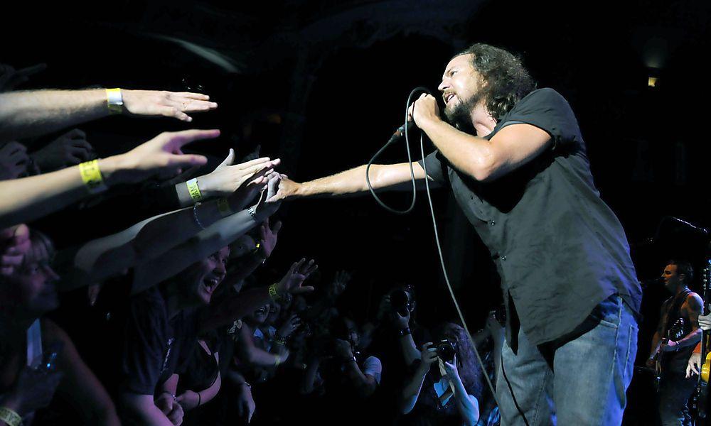 Kino-Projekt: Pearl Jam veröffentlichen Konzert-Film und Soundtrack
