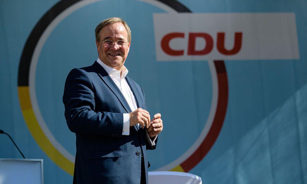 Armin Laschet will als Kanzler nicht mit dem Scheckheft nach Brüsel fahren