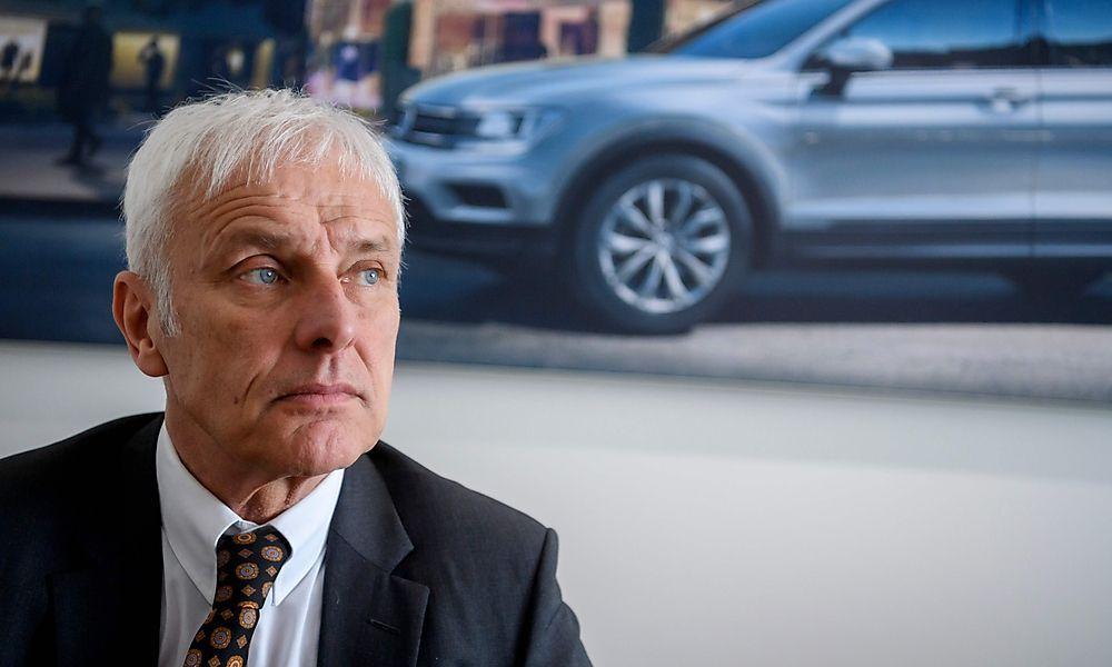 """VW-Boss: """"Fahrverbote sehen wir generell als falschen Schritt"""""""
