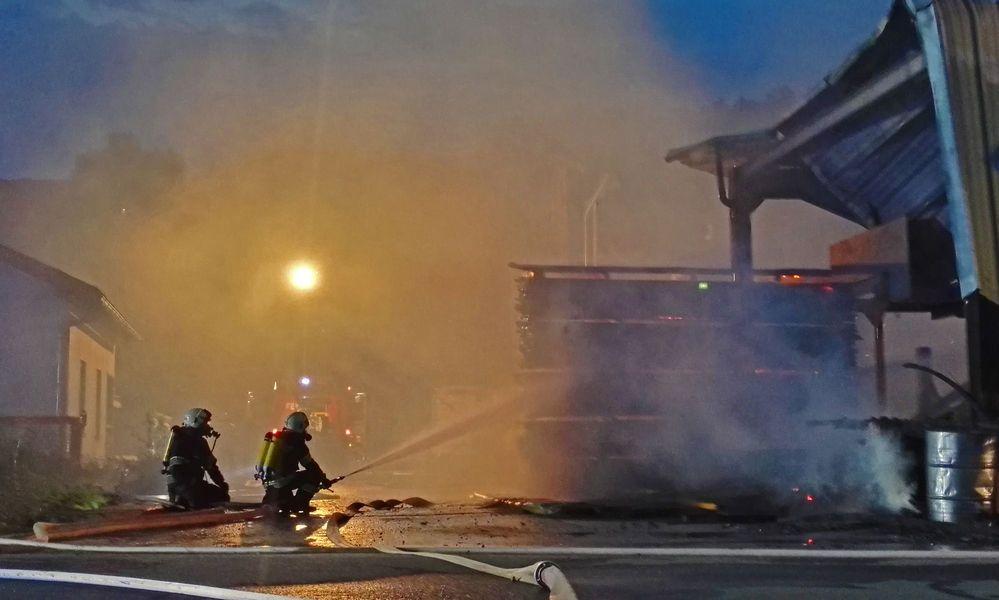 Technischer Defekt löste Großbrand aus