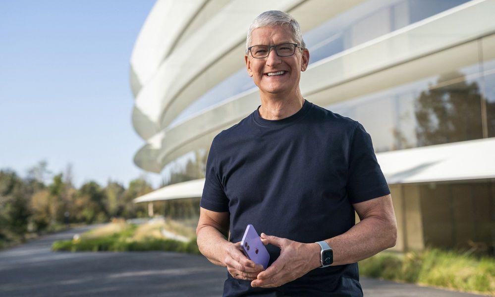 Seit zehn Jahren an der Spitze: Apple-Boss Tim Cook