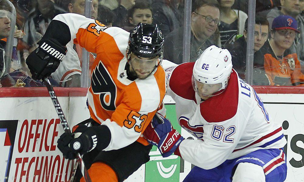 Raffls Philadelphia Flyers mit drittem Sieg in Serie