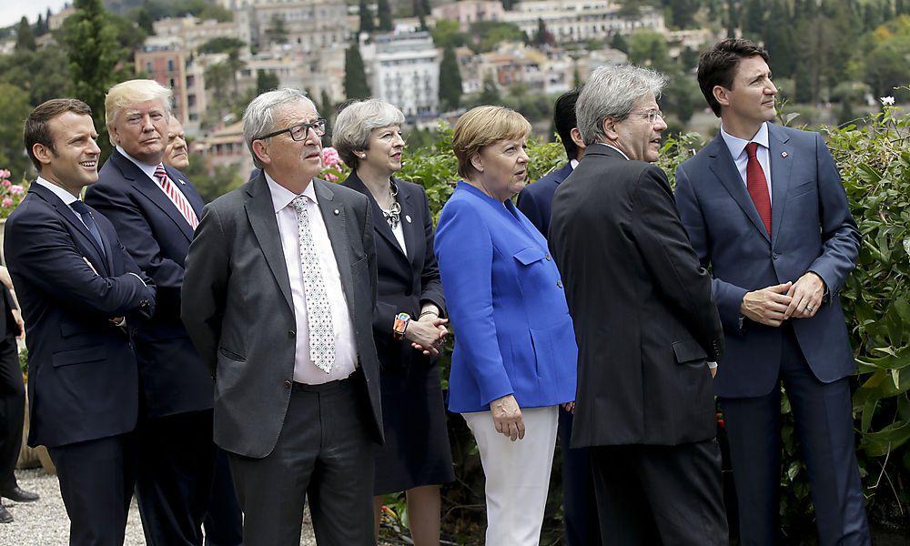 Klima, Handel und Terror: Das sind die großen Themen in Taormina