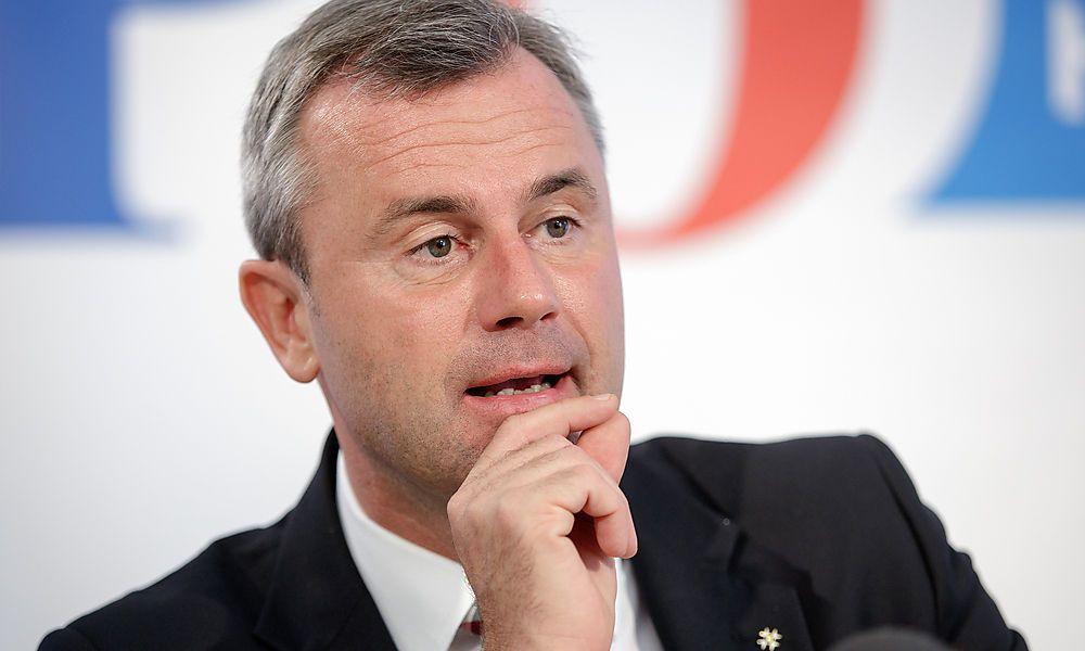 Für Norbert Hofer ist Koalition mit SPÖ nicht vom Tisch