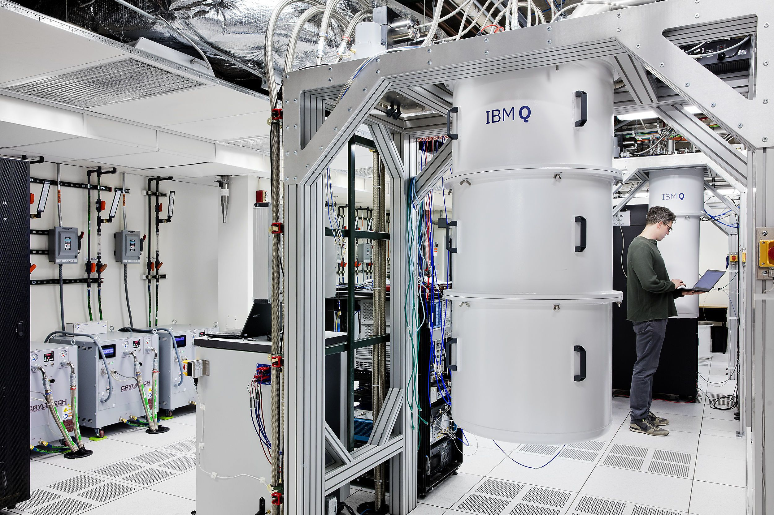 IBM Quantum Computer.  For the sake of high computing power in vaccine research, IBM has provided high-performance computers