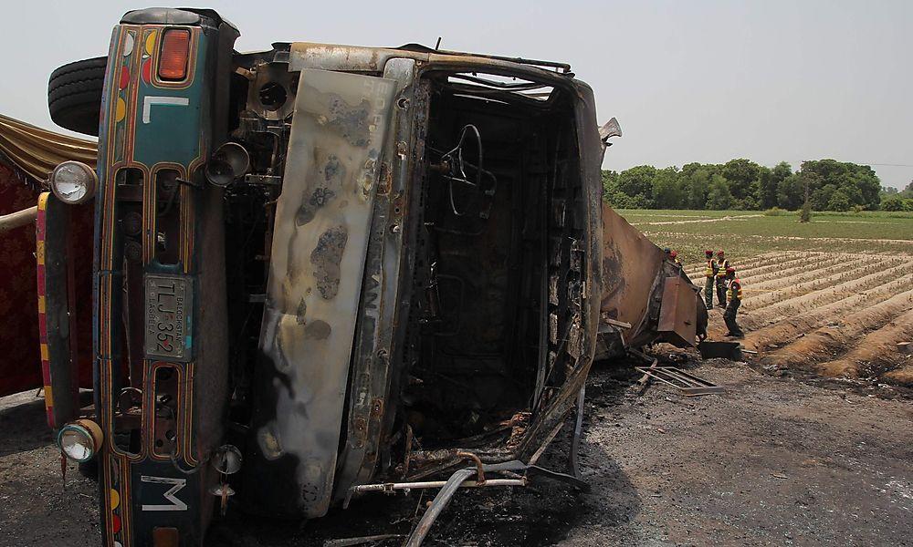 Tankwagen explodierte in Pakistan: Zahl der Toten stieg