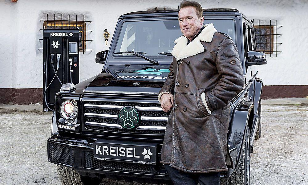 Kreisel Electric setzt bei E-Fahrzeug auf Schwarzenegger
