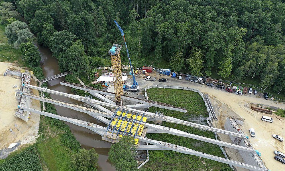 Letzter Klappvorgang bei Brücken auf S7 verlief erfolgreich