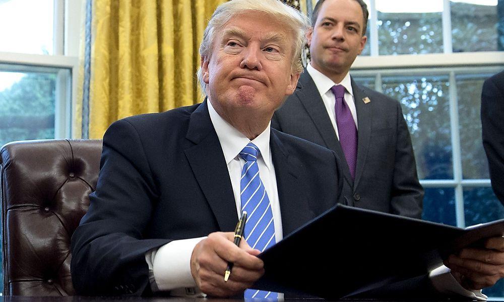 Wo Trump hobelt, da fallen Späne