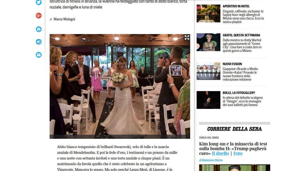 Kein Mann in Sicht: 40-Jährige feierte Single-Hochzeit