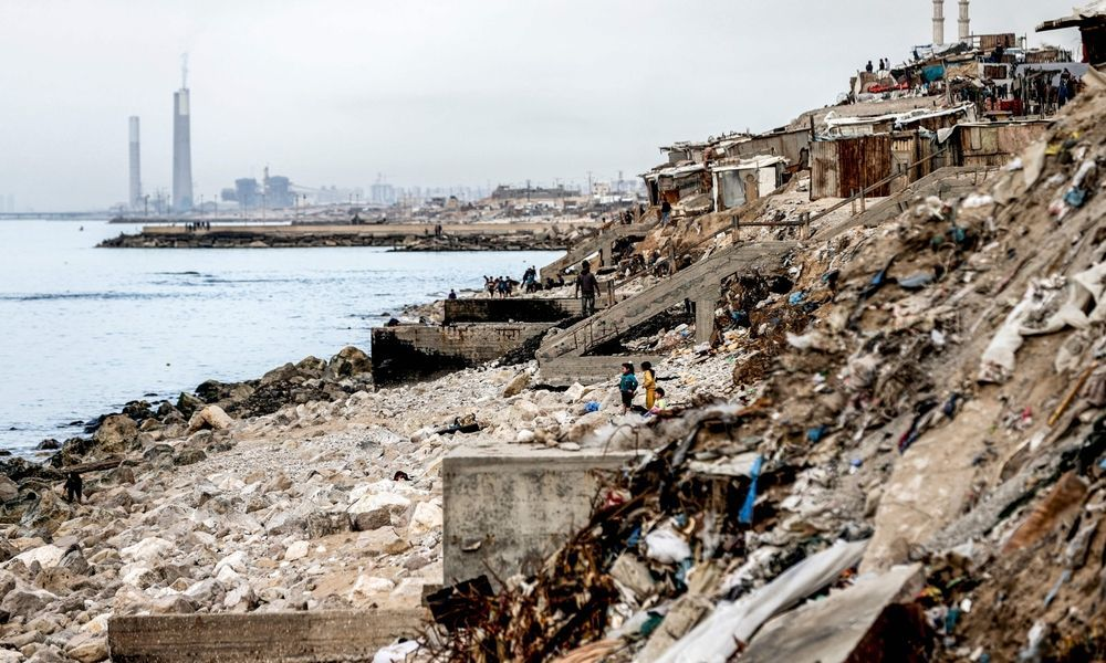 Abwasser im Gazastreifen direkt ins Meer geleitet