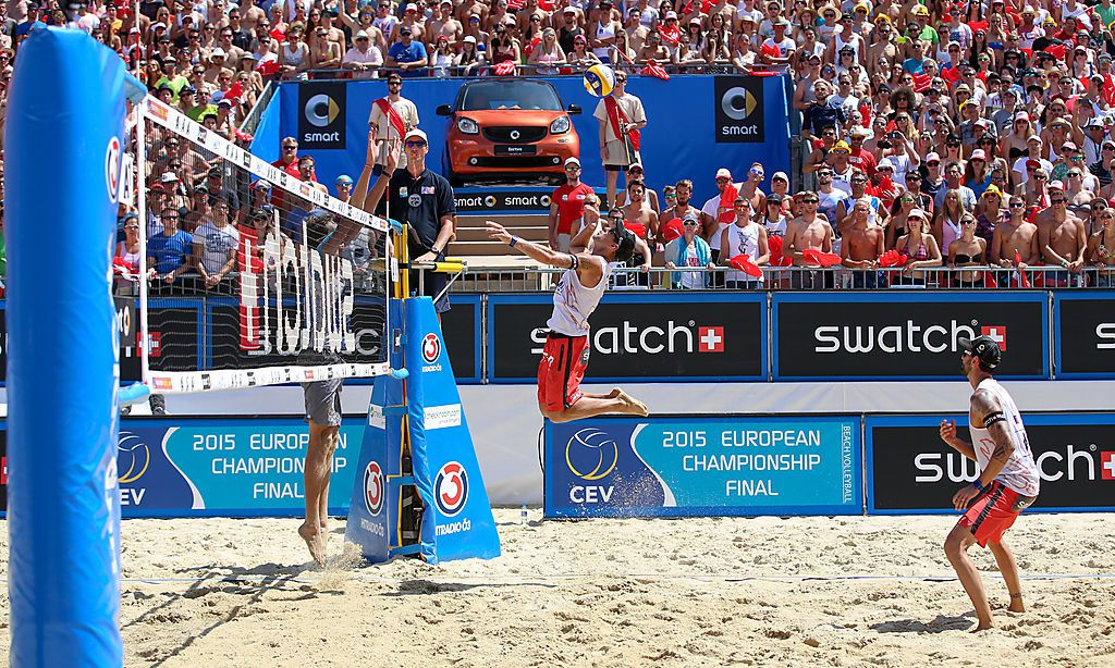 Beachvolleyball-EM - Huber/Seidl erreichen Achtelfinale vor prallen Rängen - Kleine Zeitung