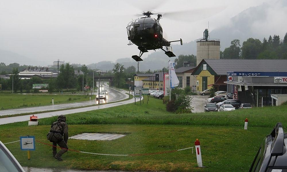 Risiko-Aufstieg sorgt für Hubschrauber-Einsatz am Grimming