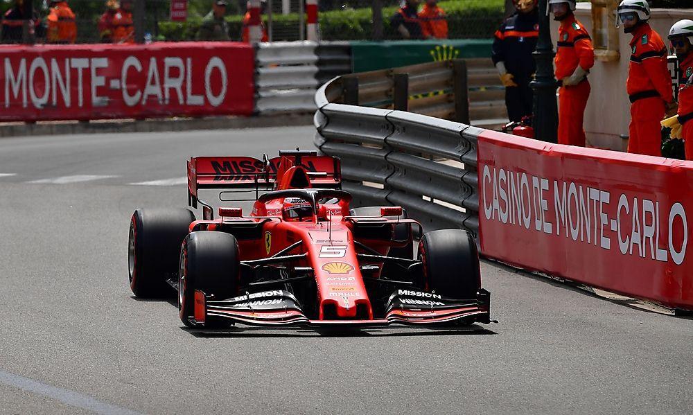 Vettel demolierte seinen Ferrari