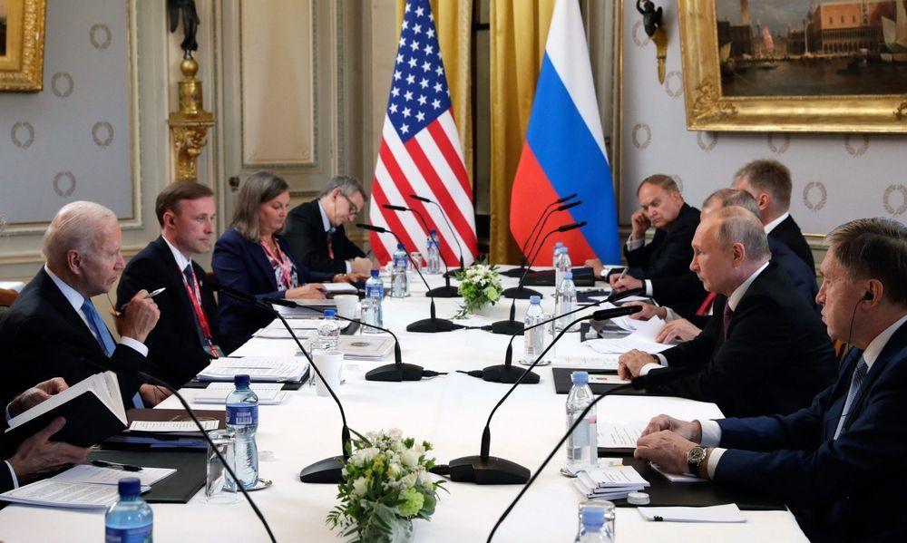 Putin und Biden : Es begann mit Handschlag