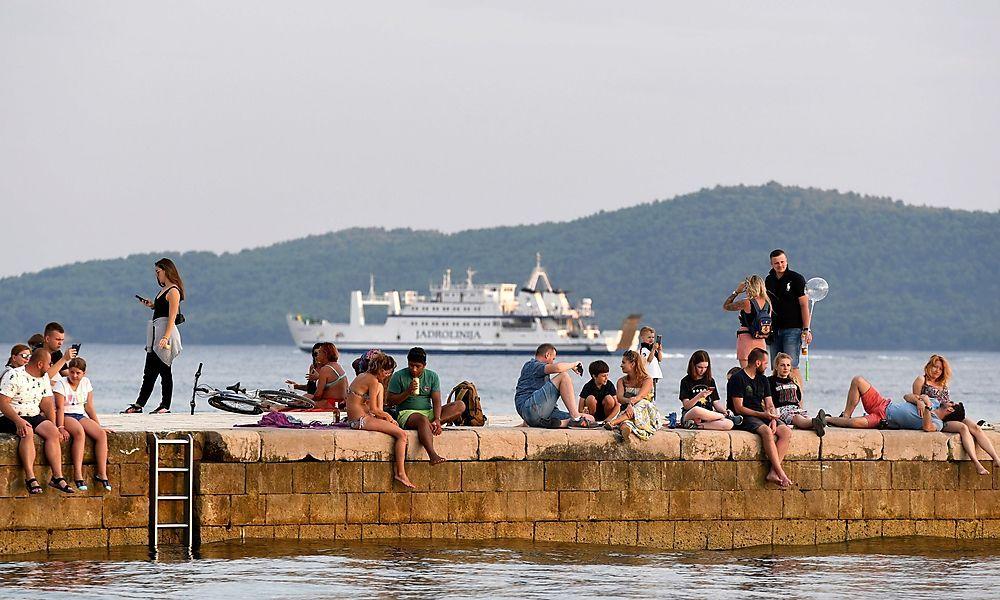 Hübscht Kroatien seine Infektionszahlen auf?