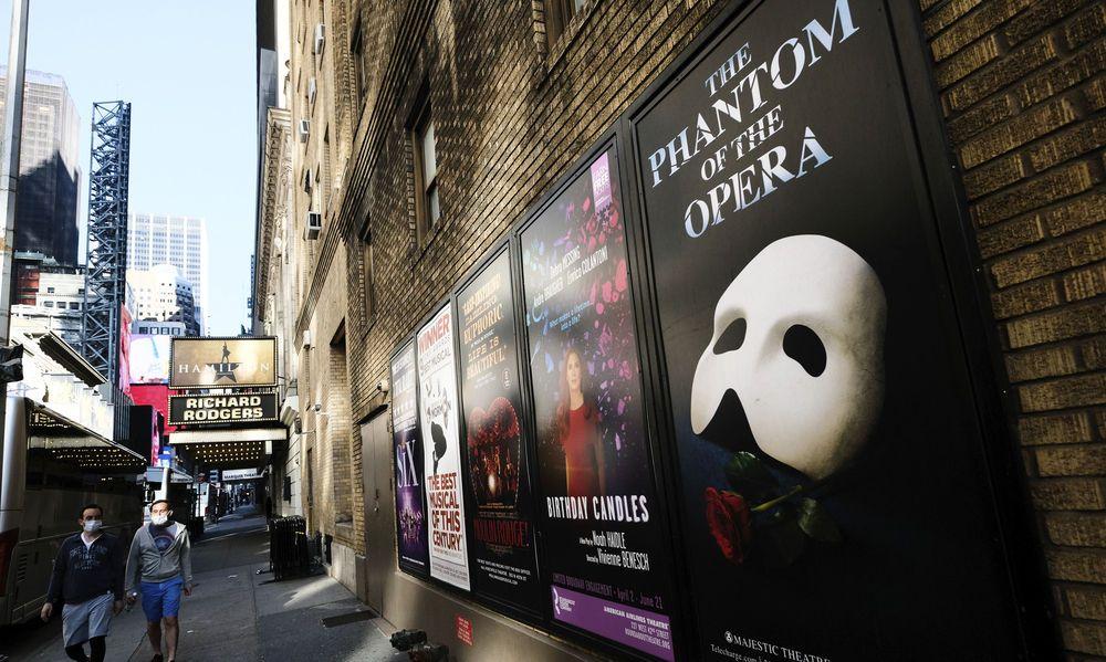 Nicht vor 30. Mai 2021 wird es am Broadway wieder Shows geben