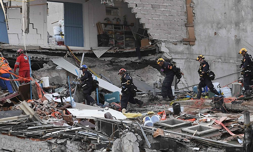 Erneutes Erdbeben in Mexiko: Zwei Tote durch Herzinfarkte