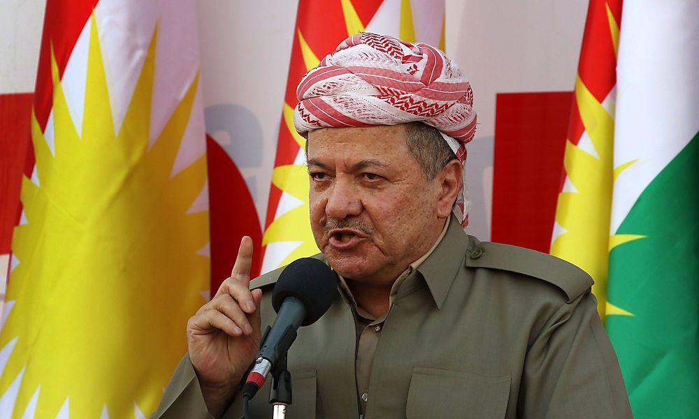 Kurden-Führer Barzani hält am Referendum fest