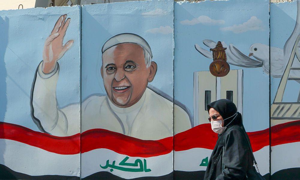 Der Papst ist im Irak eingetroffen