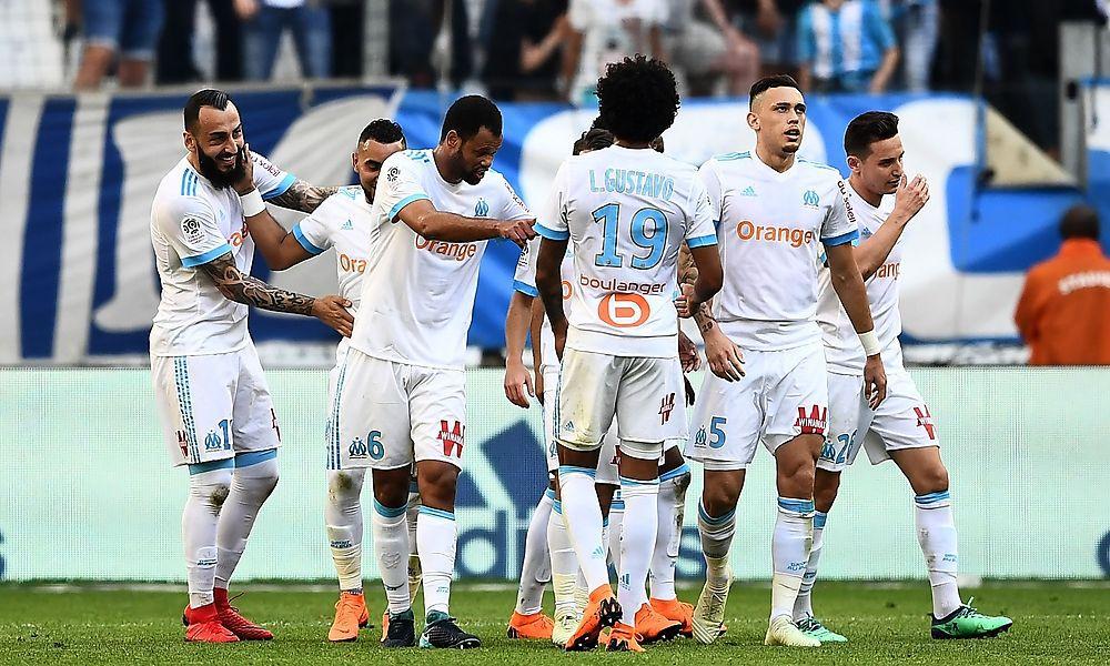 Marseille schoss sich für Salzburg warm