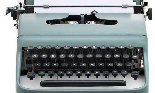Bei Wahl kommen wieder Schreibmaschinen zum Einsatz