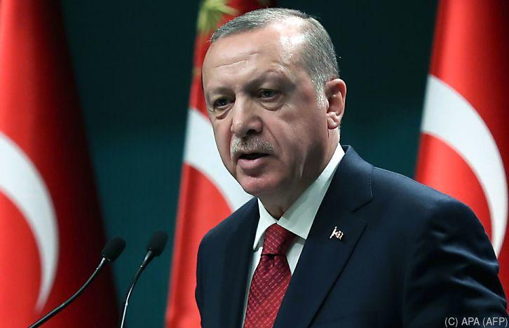 Erdogan tobt und wettert gegen Österreich