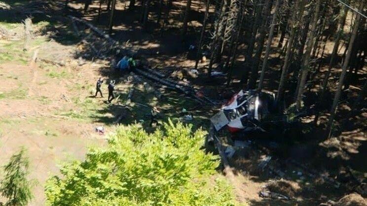 Seilbahnunglück bei Lago Maggiore: 14 Tote