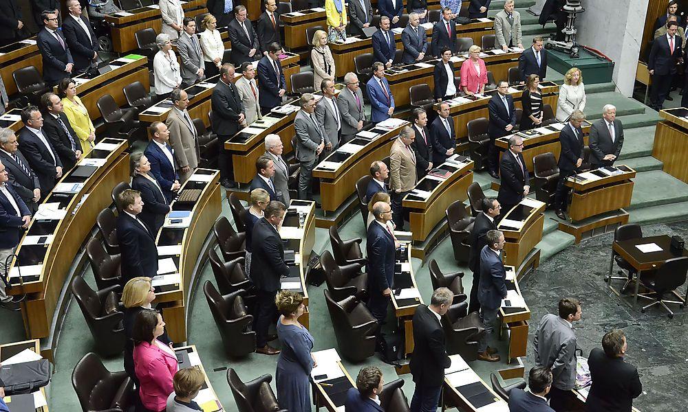 Beschluss-Marathon: Kehraus im Parlament