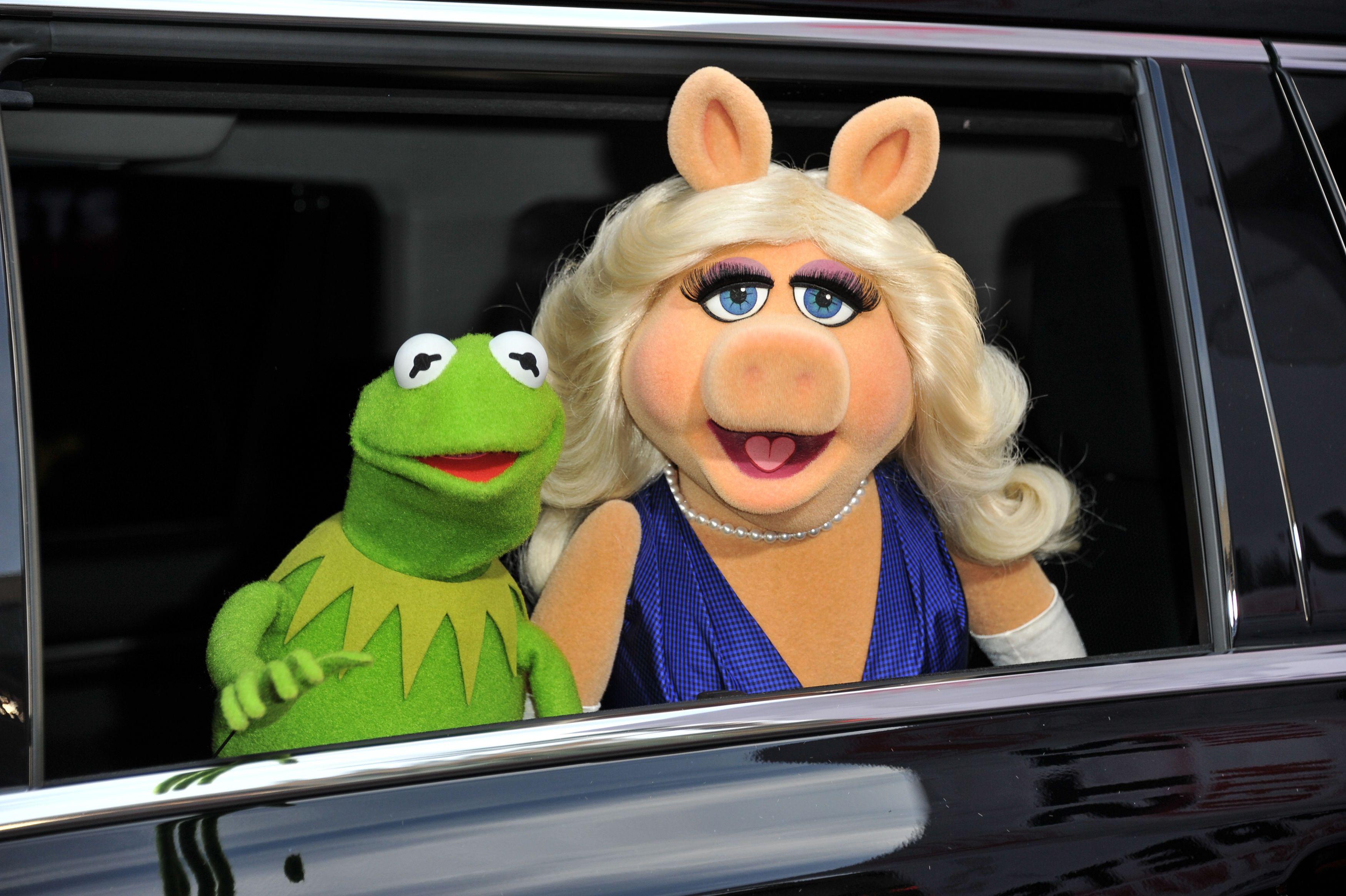 Ein ungleiches Paar für die Ewigkeit: Kermit der Frosch an der Seite von Miss Piggy