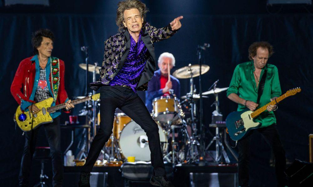 Ronnie Woods, Mick Jagger, Charlie Watts und Keith Richards auf einem Archivbild von 2019