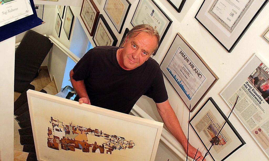 Von Paris bis Miami kennt ihn die Kunstwelt